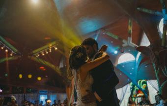 Cascada de las ánimas - Sofía y Mauricio